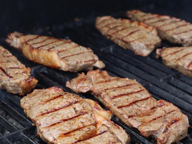 Steak on the BBQ