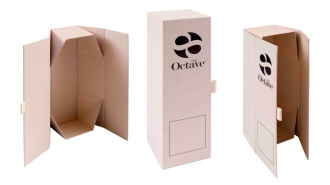 Fold-flat rigid boxes